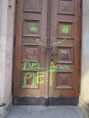 Graffitientfernung Oldenburg Bremen Altes Gymnasium Bremen 006