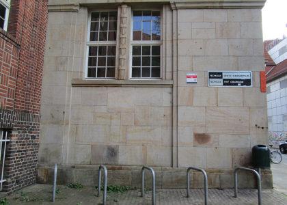 Graffitientfernung Oldenburg Bremen Altes gymnasium Bremen 003
