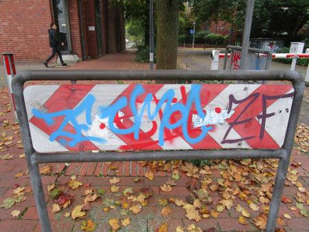 Graffitientfernung Oldenburg Bremen Am Wendehafen 013