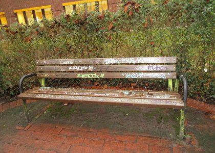 Graffitientfernung Oldenburg Bremen Gymnasium Eversten u. andere Schulen 091