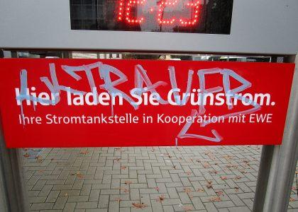Graffitientfernung Oldenburg Bremen LzO Bremer Str. 21 004