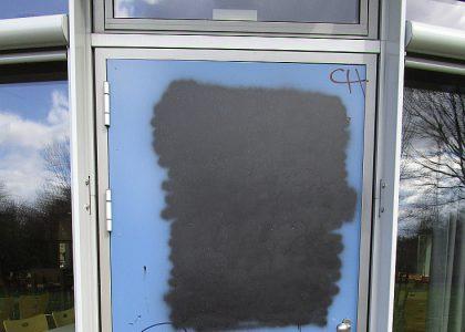 Graffitientfernung Oldenburg Bremen OBS Ofenerdiek 048