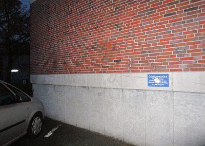 Graffitientfernung Oldenburg Bremen Raiffeisenstr. 27 027
