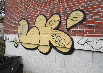 Graffitientfernung Oldenburg Bremen Raiffeisenstr. 27 Lambertistr. 69 001
