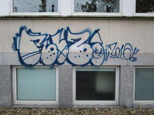 Graffitientfernung Oldenburg Bremen Raiffeisenstr. 27 Lambertistr. 69 005