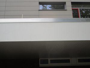 Graffitientfernung Oldenburg Bremen Schule Bürgerbusch 011