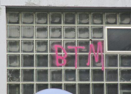 Graffitientfernung Oldenburg Bremen Schule Bürgerbusch 030