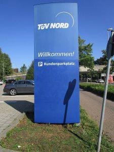 Graffitientfernung Oldenburg Bremen TÜVKaiserstr. ... nachher 008