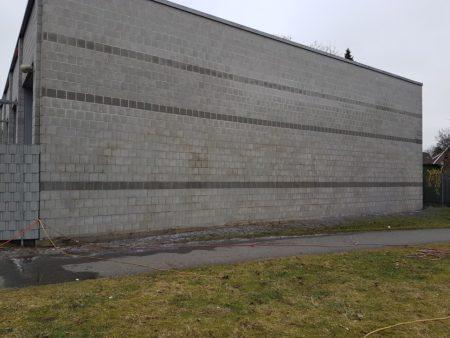 Graffitientfernung Oldenburg Am Wendehafen nachher