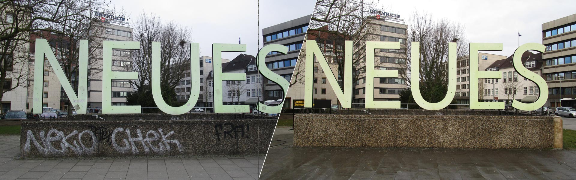 Graffitientfernung in Oldenburg Stadtmuseum